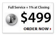 Full Service 1% Listing Package